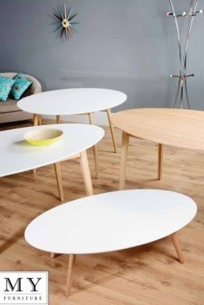 Impressive Preferred White Circle Coffee Tables For Oak Round Coffee Table Foter (Image 26 of 50)