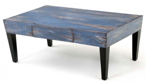 Impressive Premium Blue Coffee Tables Regarding Splash Of Color Coffee Table Design 3 Urdezign Lugar (Image 27 of 50)