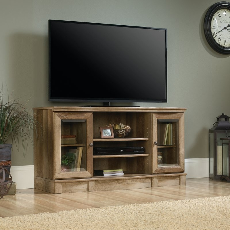 Impressive Premium Cast Iron TV Stands In Loon Peak Ward 47 Tv Stand Reviews Wayfair (Image 21 of 50)