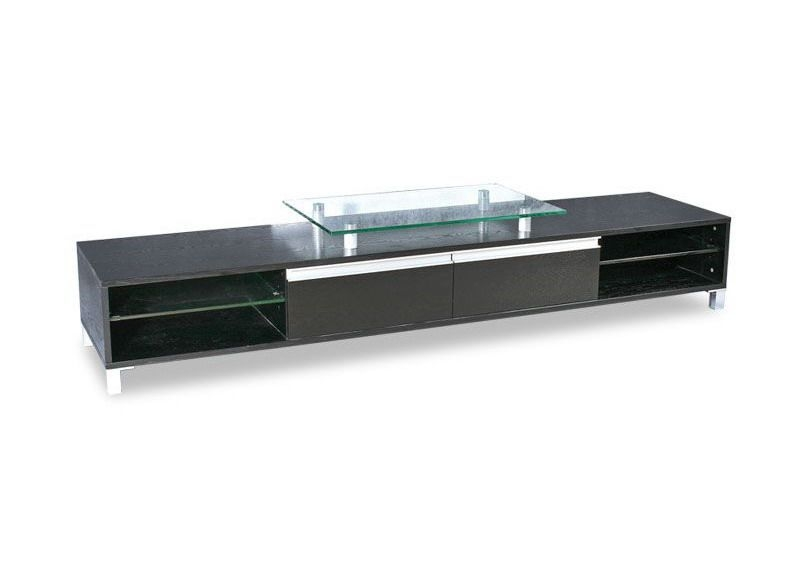 Impressive Premium Contemporary Glass TV Stands In Modern Woodentv Stand Crowdbuild For (Image 22 of 50)