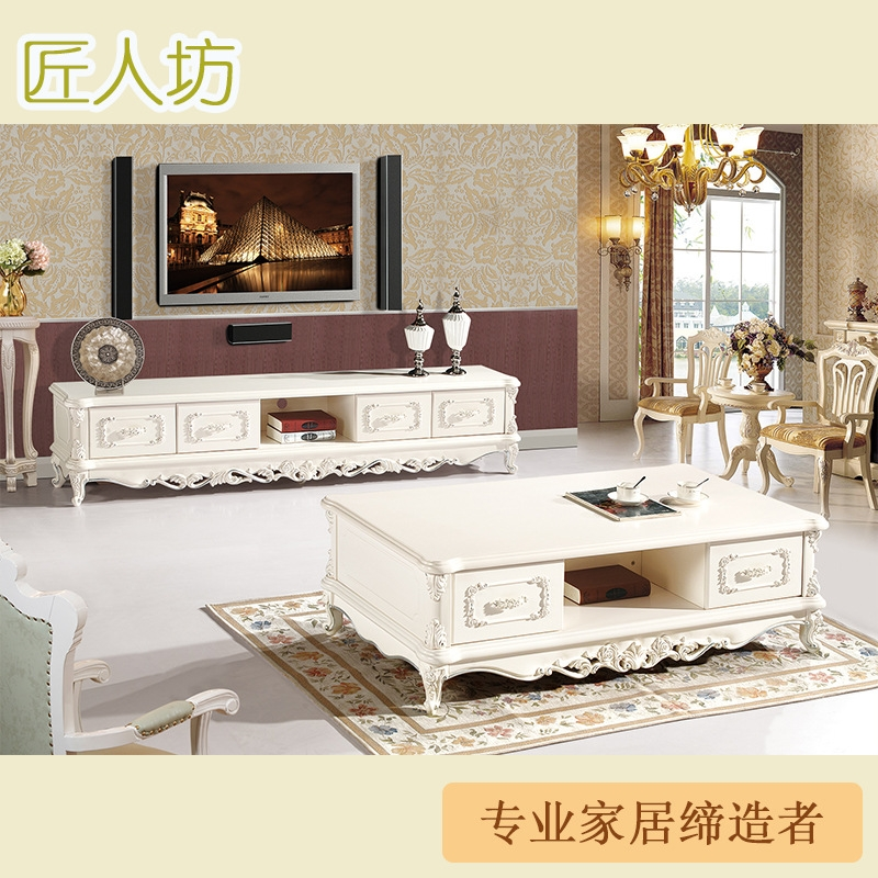 Impressive Premium French Style TV Cabinets Intended For Marble Coffee Table Tv Cabinet Furniture Quality Ivory French (Image 28 of 50)