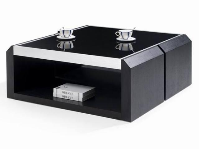 Impressive Premium Glass And Black Coffee Tables Within Unique Glass Top Black Coffee Table On Small Home Remodel Ideas (View 9 of 50)