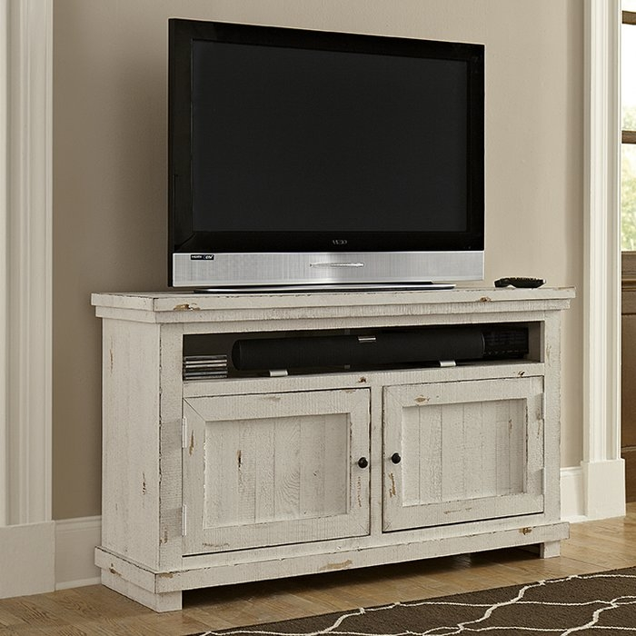 Impressive Premium Light Oak TV Stands Flat Screen For Cottage Country Tv Stands Youll Love Wayfair (Image 29 of 50)
