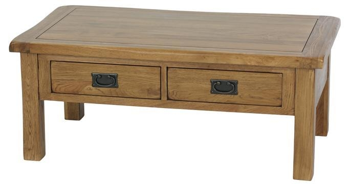 Impressive Premium Oak Coffee Table Sets Inside Popular Of Oak Coffee Table The Beauty Of The Exotic Rustic Oak (Image 30 of 50)