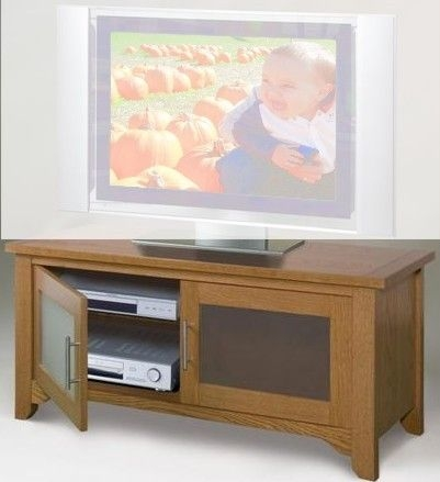 Impressive Premium Oak Veneer TV Stands For Elite Industries El 785 Tv Stand Av 47 Wide Combination Unit (Image 28 of 50)