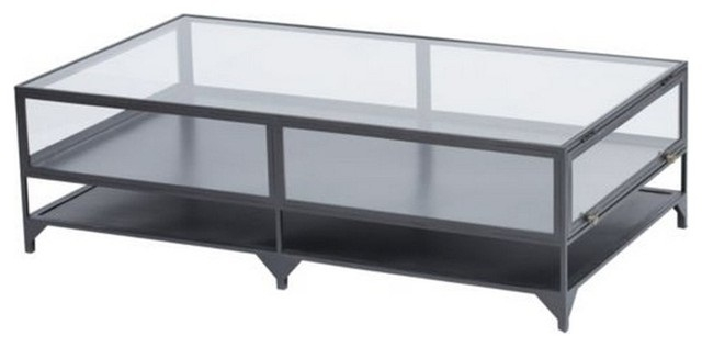 Impressive Premium Retro Glass Coffee Tables For Elegant Glass Top Display Coffee Table Rustic (Image 27 of 50)