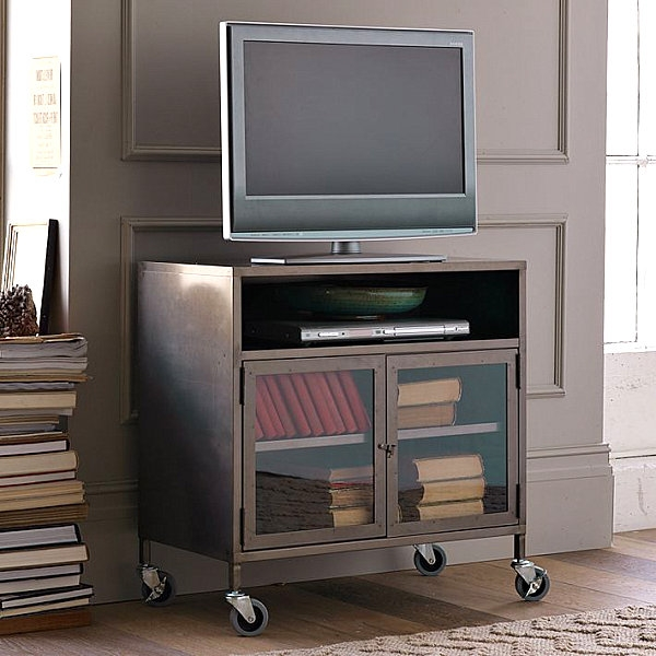 Impressive Premium Small TV Stands On Wheels Throughout Tv Stands Glamorous Space Saving Tv Stand 2017 Design Space (Image 26 of 50)
