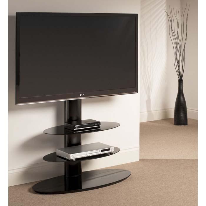 Impressive Premium Techlink Corner TV Stands Inside Techlink Strata 3 Shelf 50 Inch Corner Tv Stand With Integrated Tv (Image 23 of 50)