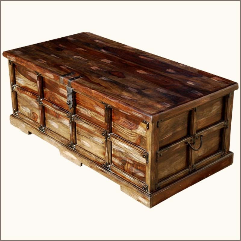 Impressive Premium Trunks Coffee Tables Throughout Steamer Trunk Coffee Table Contemporary Coffee Tables New (Image 21 of 40)