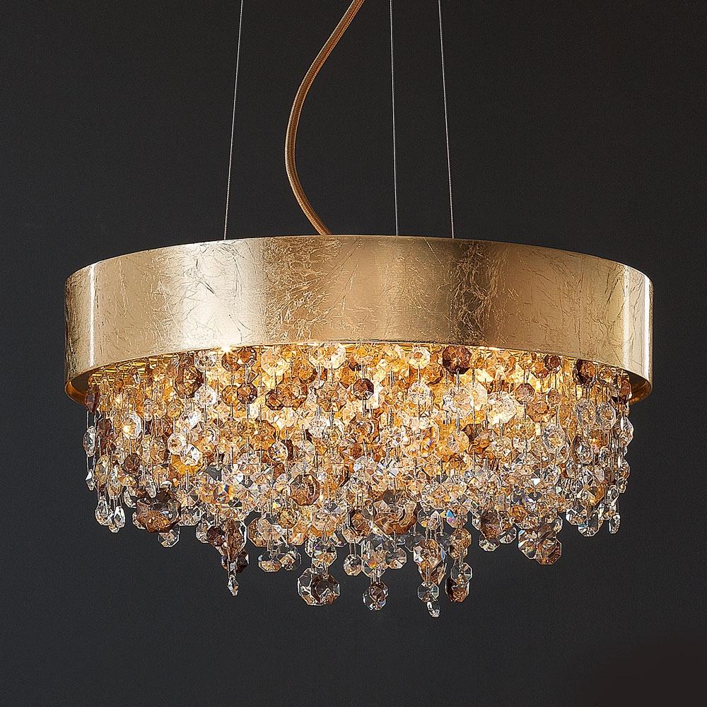 Impressive Round Modern Chandelier Chandeliers Modern Chandelier For Crystal Ball Chandeliers (Image 13 of 25)