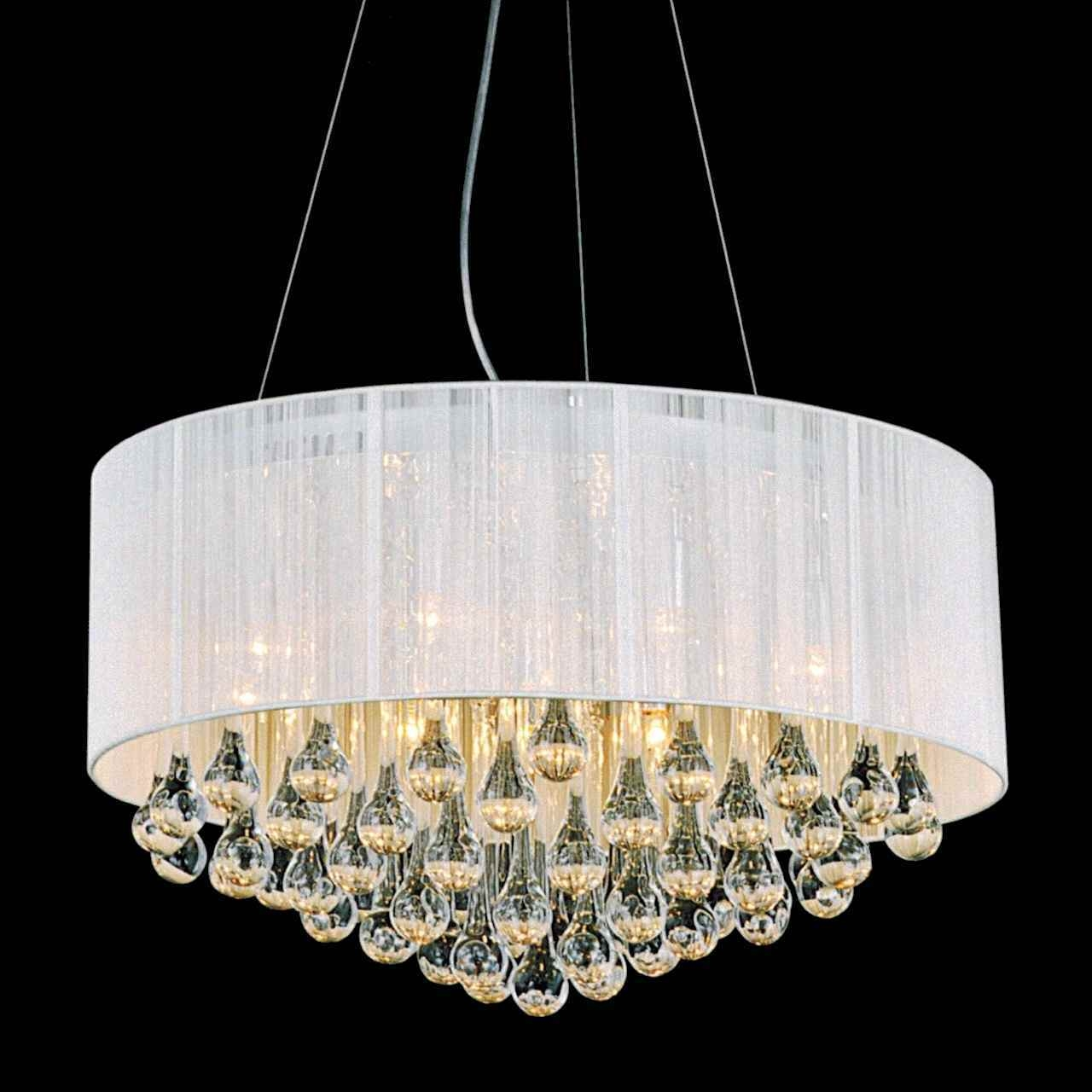 Impressive Round Modern Chandelier Chandeliers Modern Chandelier Pertaining To Crystal Ball Chandeliers (Image 14 of 25)