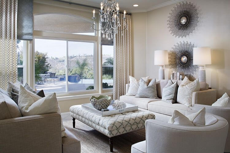 Impressive Series Of Beige Coffee Tables With 50 Beautiful Living Rooms With Ottoman Coffee Tables (Image 26 of 40)