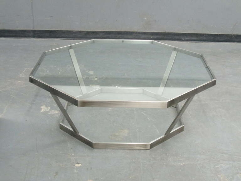 Impressive Series Of Chrome And Glass Coffee Tables Throughout Coffee Table Extraordinary Chrome Coffee Table For Your Home (View 45 of 50)