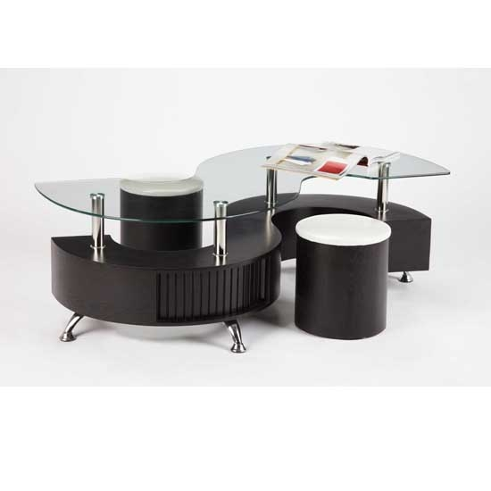 Impressive Series Of Curve Coffee Tables Throughout Curved Coffee Tables Top Tuto (Image 26 of 50)
