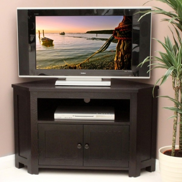 Impressive Series Of Dark Wood Corner TV Cabinets Within The 25 Best Corner Tv Table Ideas On Pinterest Corner Tv Tv (Image 28 of 50)