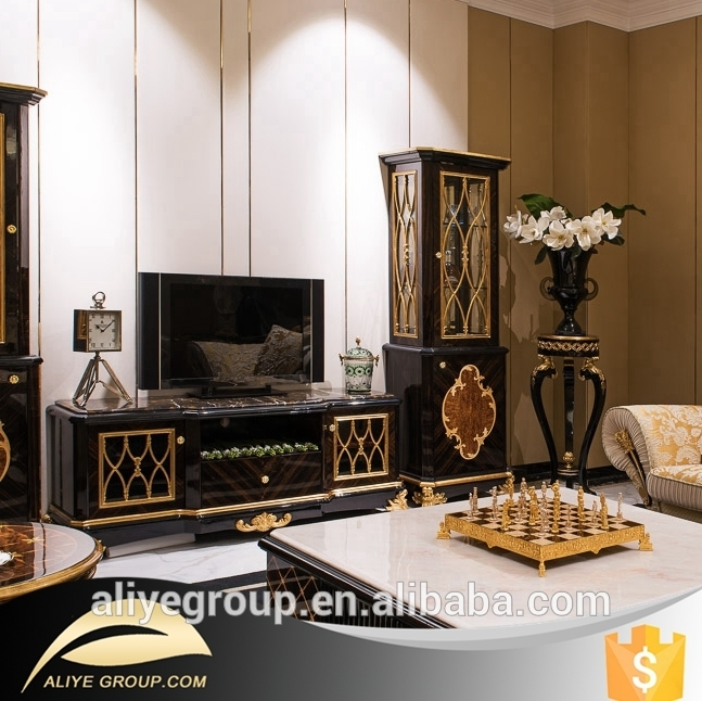 Impressive Series Of Gold TV Stands Intended For Tv Stand Tv Stand Suppliers And Manufacturers At Alibaba (View 37 of 50)