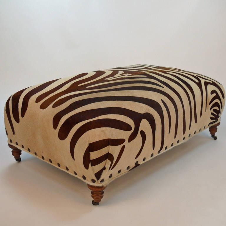 Impressive Series Of Leopard Ottoman Coffee Tables Throughout Leopard Print Ottoman Coffee Table View Here Coffee Tables Ideas (View 33 of 40)