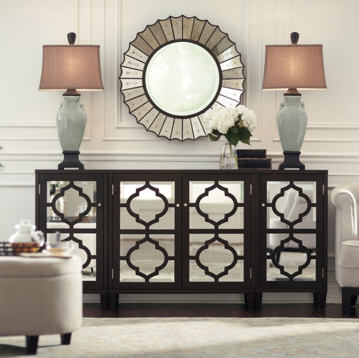 Impressive Series Of Mirrored TV Stands In Best 20 Mirrored Furniture Ideas On Pinterest Mirror Furniture (View 38 of 50)