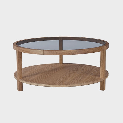 Impressive Series Of Oak Coffee Table With Shelf With Traditional Coffee Table Glass Oak Rectangular Bas (Image 28 of 50)
