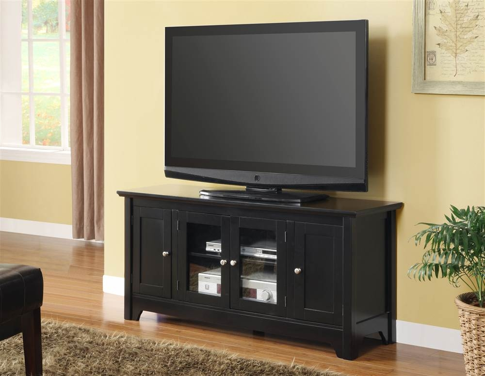 Impressive Series Of Wooden TV Stands For Flat Screens Inside Mainstays Tv Stand For Flat Screen Tvs Up To 47 Multiple Finish (Image 32 of 50)