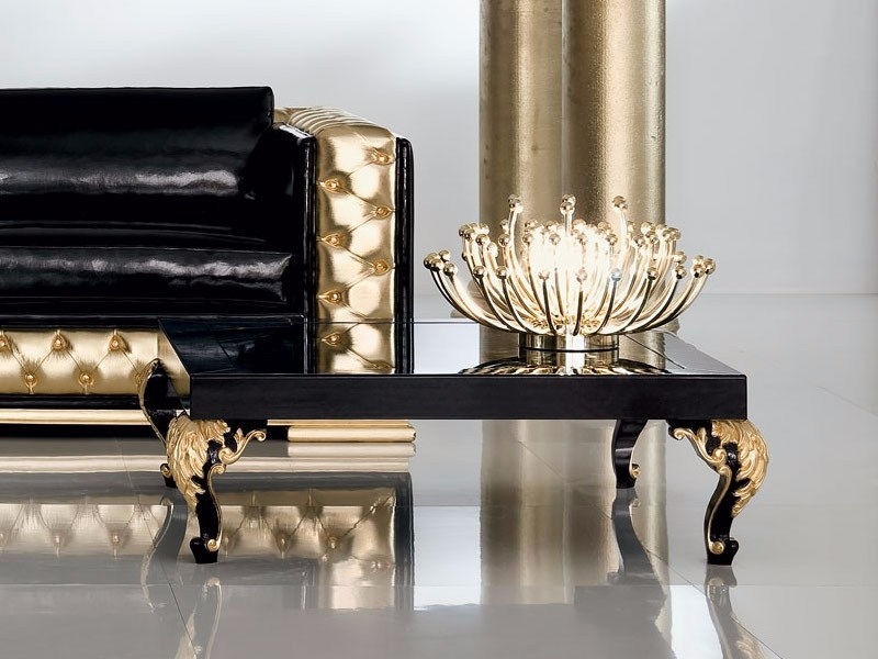 Impressive Top Baroque Coffee Tables Throughout Oak Thin Square Coffee Table Ethnicraft (View 40 of 50)