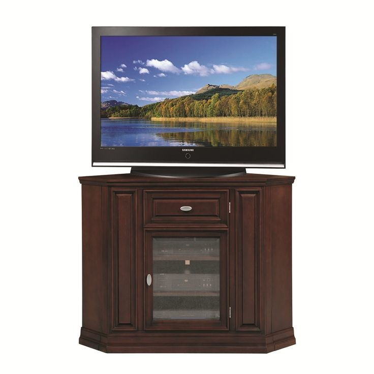 Impressive Top Corner TV Stands 46 Inch Flat Screen In Best 25 Tall Corner Tv Stand Ideas On Pinterest Tall (Image 32 of 50)