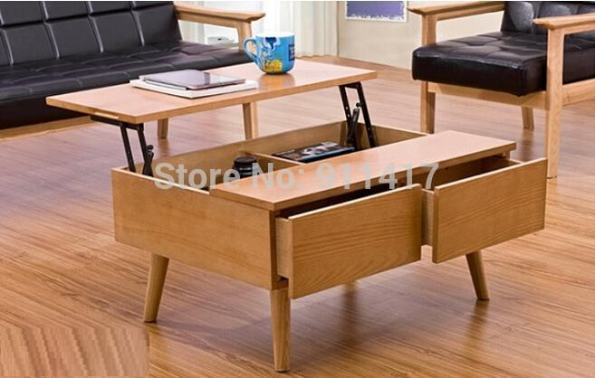 Impressive Top Flip Up Coffee Tables With Regard To Coffee Table That Raises Up (Image 24 of 50)