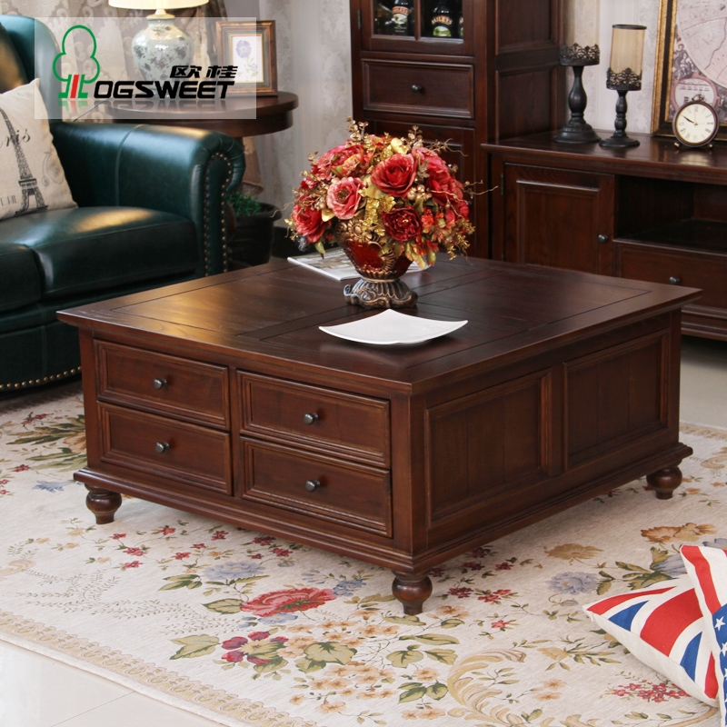 Impressive Top Large Coffee Tables With Storage With Regard To Large Square Storage Coffee Table Square Oak Coffee Table With (Image 31 of 50)