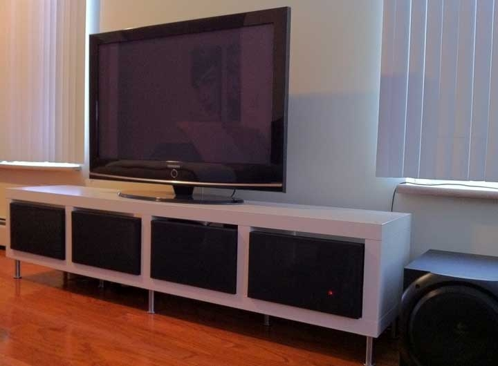 Impressive Top Long TV Stands Furniture In 50 Creative Diy Tv Stand Ideas For Your Room Interior Diy (Image 29 of 50)
