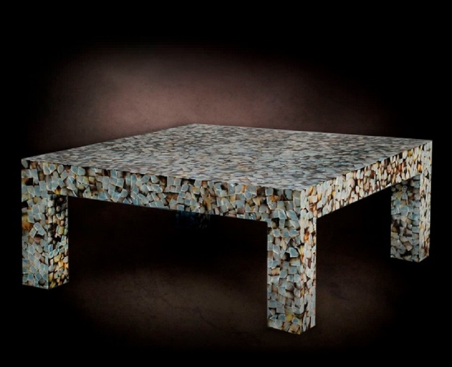 Impressive Top Mother Of Pearl Coffee Tables With Mother Of Pearl Coffee Table Stone Smiths (View 12 of 50)