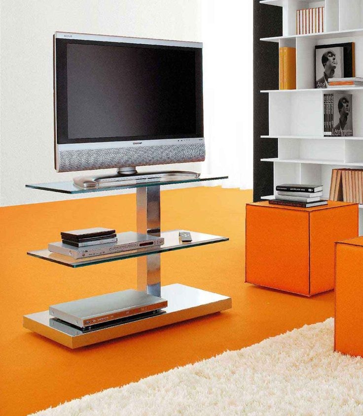 Impressive Top Orange TV Stands For Tv Stands Gallery 4 Foot Tall Skinny Tv Stand Images (Image 34 of 50)