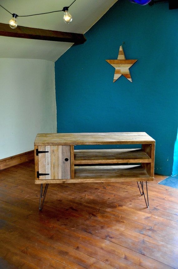 Impressive Top Reclaimed Wood And Metal TV Stands In Best 20 Industrial Tv Stand Ideas On Pinterest Industrial Media (Image 29 of 50)