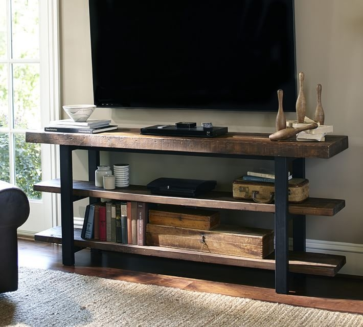 Impressive Top Reclaimed Wood And Metal TV Stands With Best 25 Metal Tv Stand Ideas On Pinterest Industrial Tv Stand (Image 30 of 50)