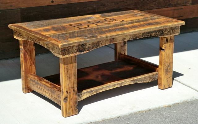 Impressive Top Rustic Wood DIY Coffee Tables In Rustic Wood Coffee Tables (Image 26 of 50)