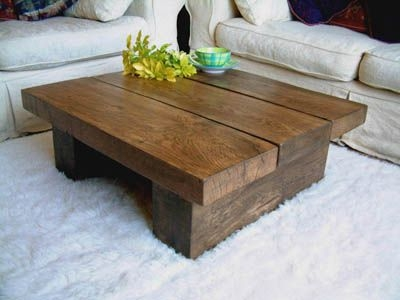 Featured Image of Square Dark Wood Coffee Tables