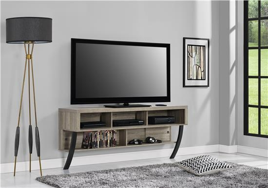 Impressive Top Wall Mounted TV Stands With Shelves In Ameriwood Furniture Asher Wall Mounted Tv Stand For Tvs Up To  (Image 34 of 50)