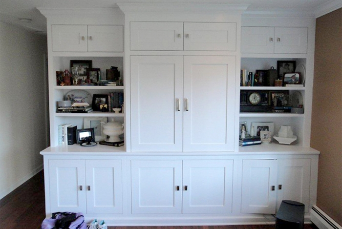 Impressive Top White Painted TV Cabinets Within Painted Shaker Cabinet Doors With Tv Cabinet With Shaker Style (View 27 of 50)