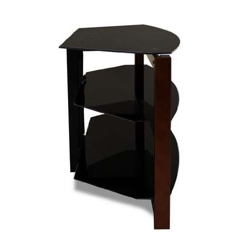 Impressive Trendy Black Glass TV Stands Inside Tech Craft Solid Wood And Black Glass Tv Stand With 60 In Tv (Image 30 of 50)