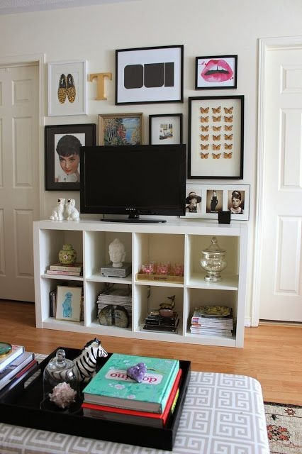Impressive Trendy Bookshelf And TV Stands In Best 20 Tv Stand Decor Ideas On Pinterest Tv Decor Tv Wall (Photo 42 of 50)