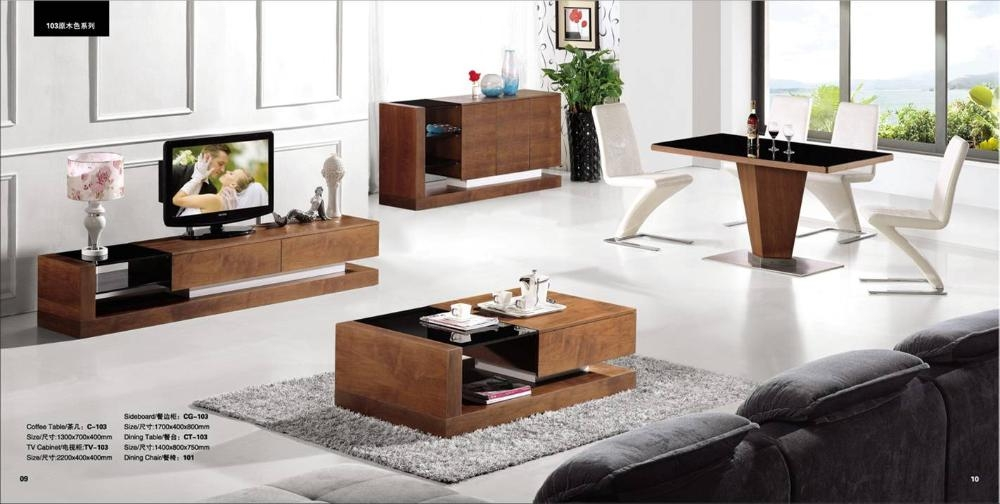 Impressive Trendy Coffee Tables And Tv Stands Inside Coffee Table Tv Stand Set (Image 27 of 50)