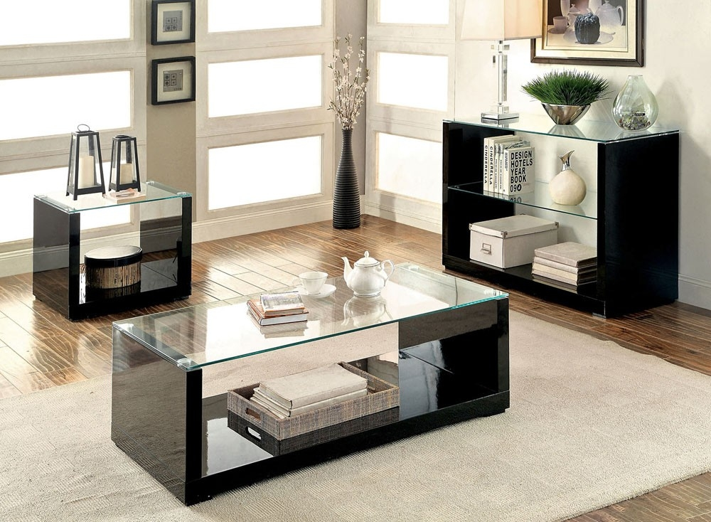 Impressive Trendy Contemporary Coffee Table Sets Throughout Modern Coffee Table Sets (Image 28 of 50)