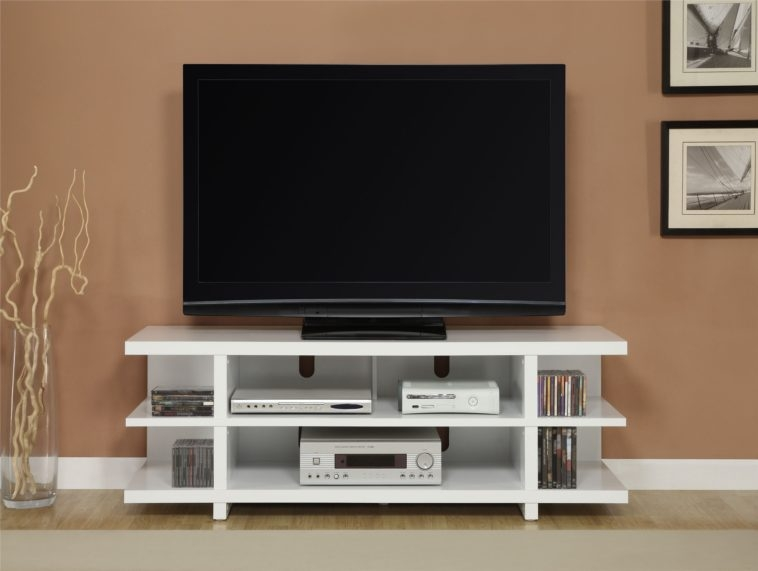 Impressive Trendy Contemporary Corner TV Stands In Furniture White Wooden Corner Tv Stand With Shelves And Short (Image 29 of 50)