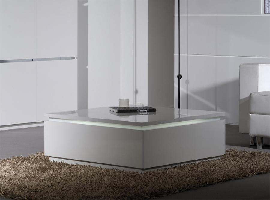 Impressive Trendy Large Low White Coffee Tables Throughout Modern White Coffee Table (View 24 of 50)