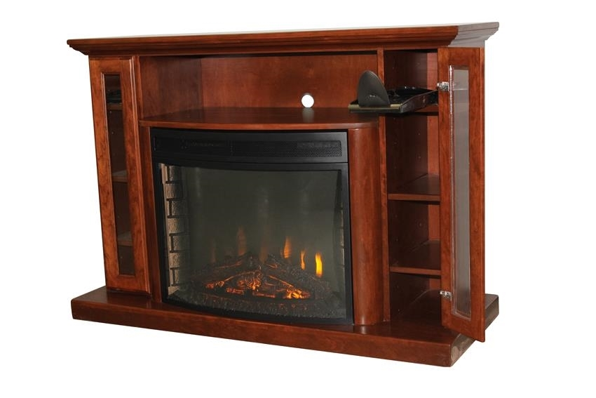 Impressive Trendy Real Wood Corner TV Stands Intended For Amish Solid Wood Entertainment Centers And Corner Tv Stands From (View 19 of 50)