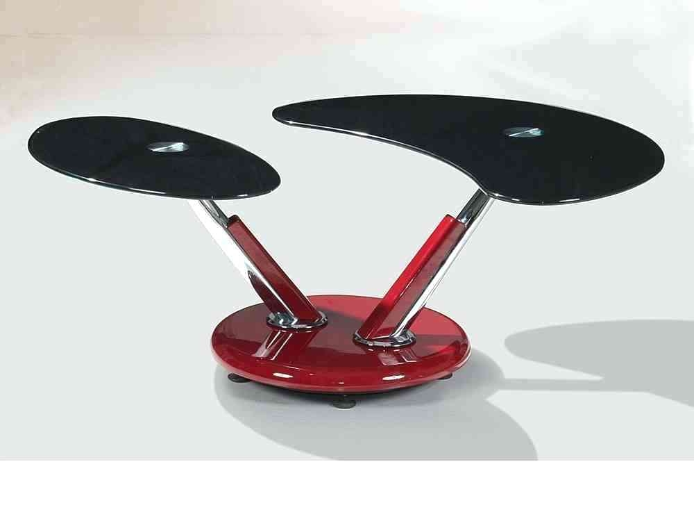 Impressive Trendy Red Gloss Coffee Tables With Regard To Red And Black Coffee Table Blackbeardesignco (Image 23 of 40)