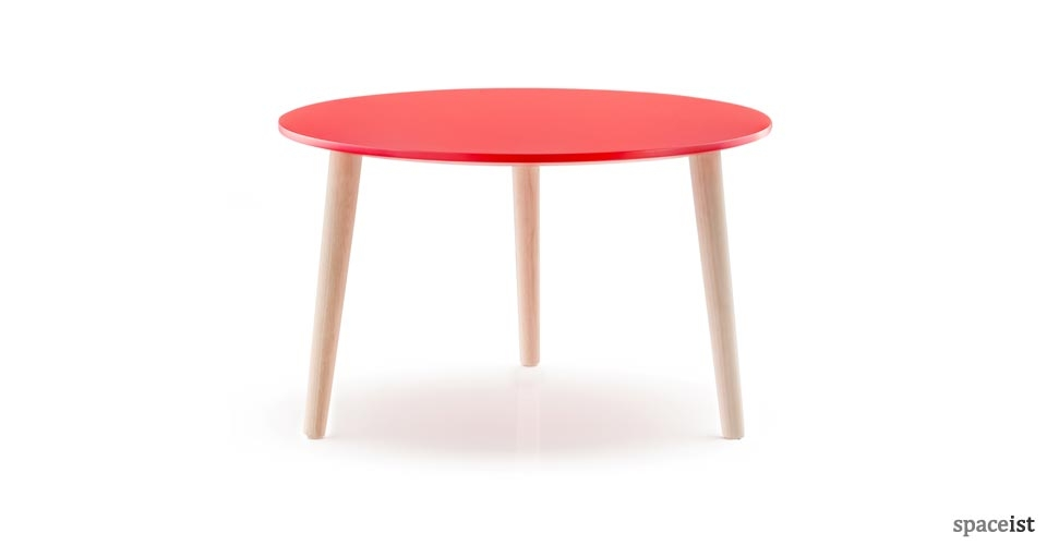 Impressive Trendy Red Round Coffee Tables With Reception Coffee Tables Low Office Tables (View 7 of 50)