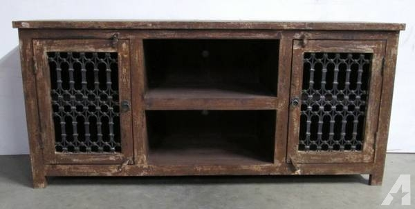 Impressive Trendy Rustic TV Stands For Sale Throughout Recycled Wood Rustic Tv Stand From India On Sale For Sale In (Image 30 of 50)