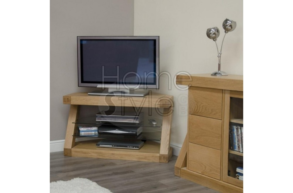 Impressive Trendy Small Oak Corner TV Stands With Wood Corner Tv Unit Jf701 Corner Tv Stand Furniture Ikea Unit Tv (View 9 of 50)