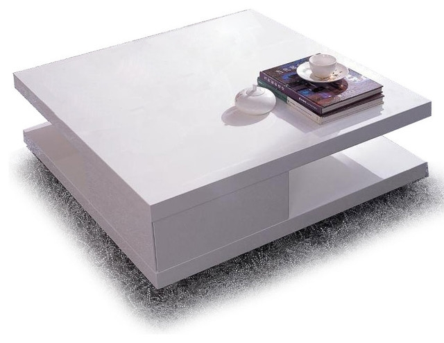 Impressive Trendy Square White Coffee Tables For Modern White Square Coffee Table Table And Estate (View 4 of 50)