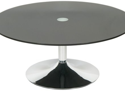 Impressive Unique Black Glass Coffee Tables  For Safavieh Mansel 35 Round Retro Mid Century Coffee Table Light (Image 33 of 50)